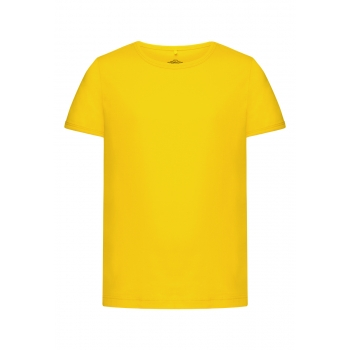 Girls Tshirt bright yellow