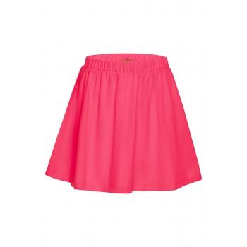 Юбка для девочки цвет ягодный