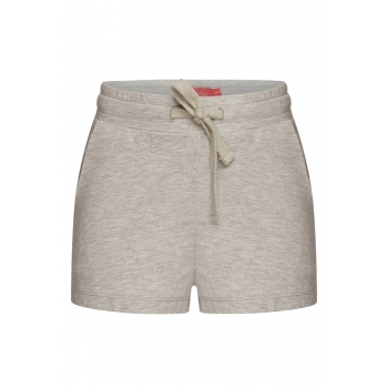Girls Shorts light grey melange
