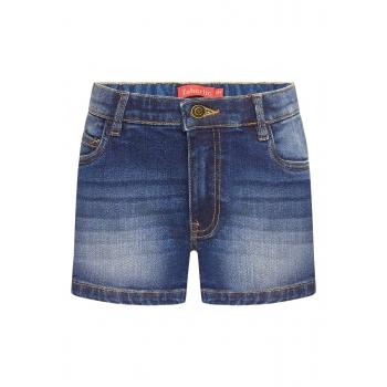 Шорты из джинсовой ткани для девочки цвет синий