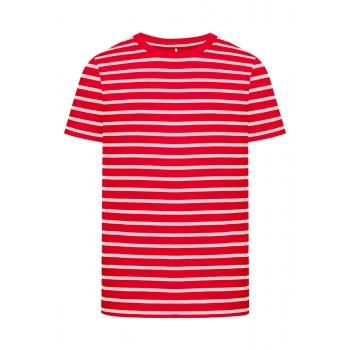 Boys Striped Tshirt red