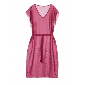 Long Beach Dress raspberry