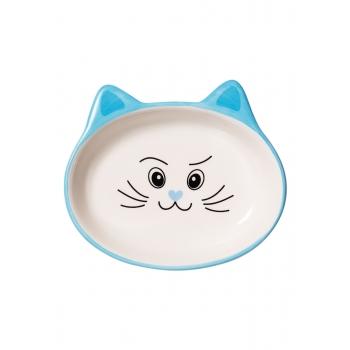 Cat Bowl blue