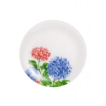 Стеклянная тарелка Цветочная коллекция диаметр 25 см