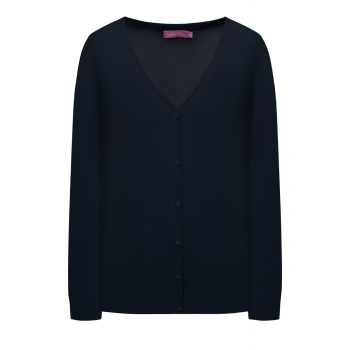 Knit Cardigan dark blue