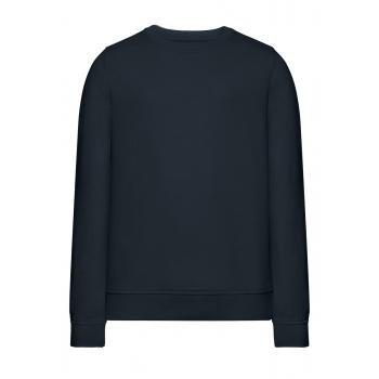 Трикотажный пуловер для девочки цвет темносиний