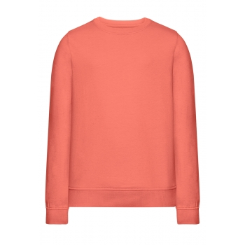Трикотажный пуловер для девочки цвет персиковорозовый