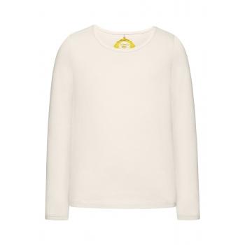 Girls Long Sleeve Tshirt milky