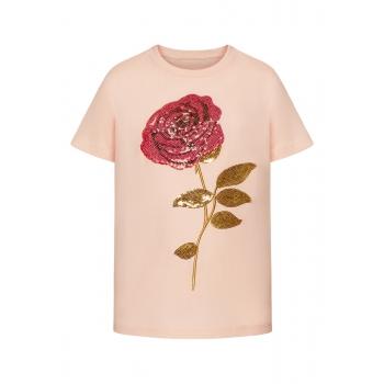 Girls Tshirt peach pink