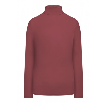 Turtleneck crimson