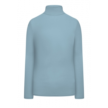 Turtleneck light blue