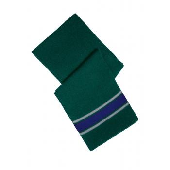 Шарф зеленосиний