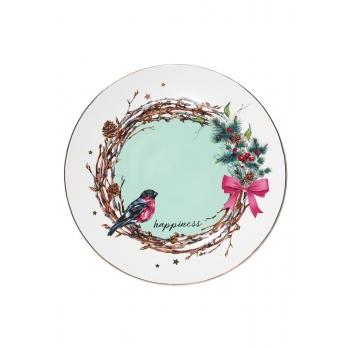Тарелка Happiness диаметр 20 см