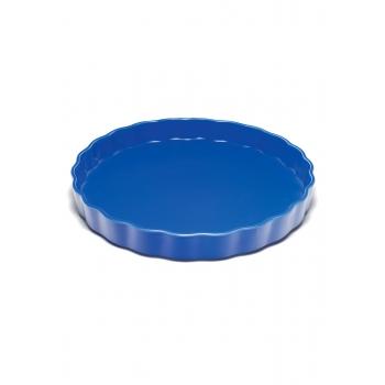 Pie Dish blue