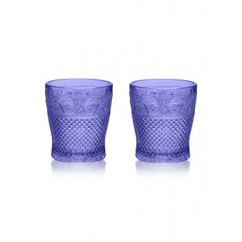 Набор из двух стаканов цвет сапфир