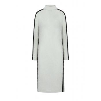 Lurex Dress white