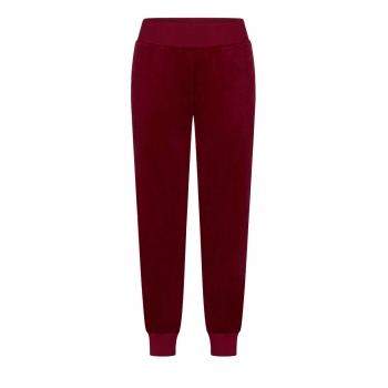 Trousers burgundy