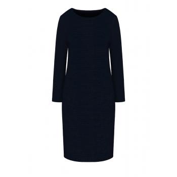Lurex Dress dark blue