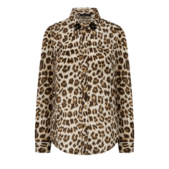 LeopardPatterned Blouse multicolour