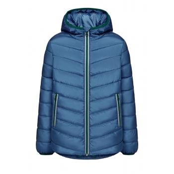 Утепленная куртка для мальчика цвет синий