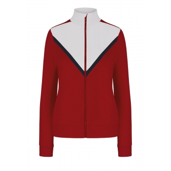 ZipUp Trainer Jacket red