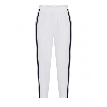 Cropped Trousers white