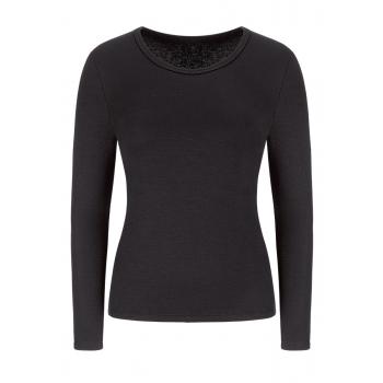 Long Sleeve Thermal Top black