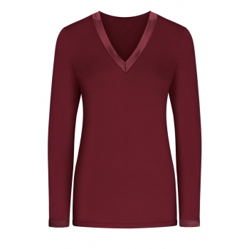 Long Sleeve Tshirt burgundy