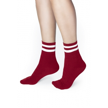 Womens Socks red