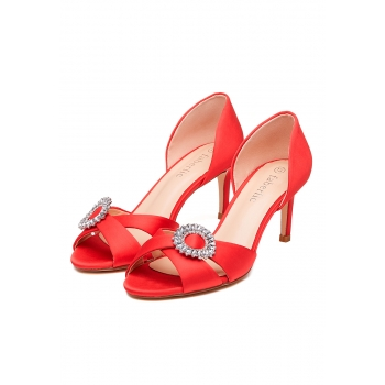 Crystal Shoes red