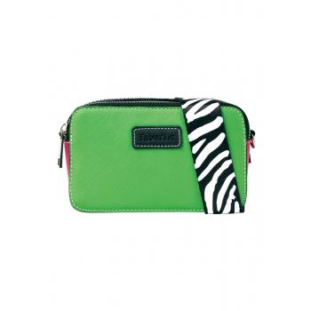 Maza soma zaļā krāsā ar siksniņu
