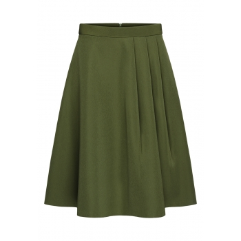 Skirt dark green