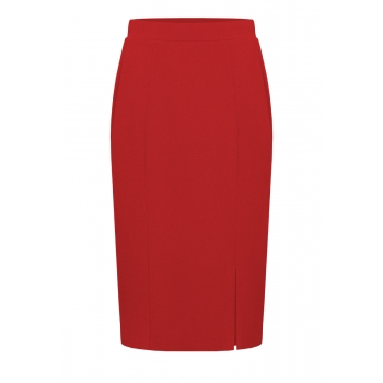 Jersey Skirt dark red