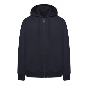Long Sleeve Hoodie for men dark blue
