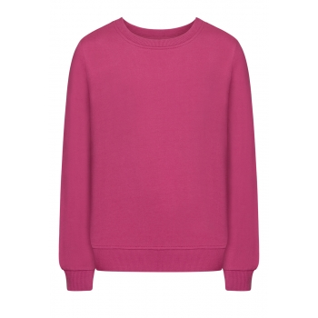Girls Long Sleeve Jersey Jumper dark lilac