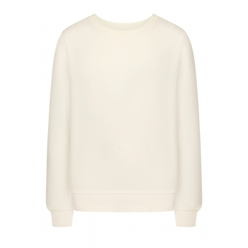 Girls Long Sleeve Jersey Jumper white
