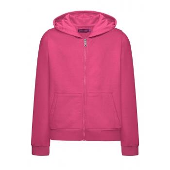 Long Sleeve Hoodie for girls fuschia
