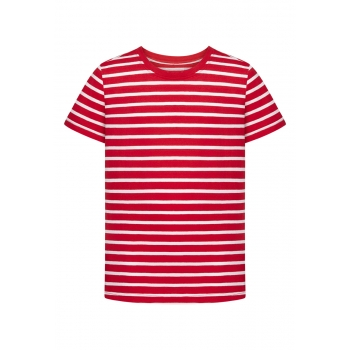 Boys Short Sleeve Tshirt red