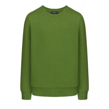 Трикотажный джемпер с длинным рукавом для мальчика цвет зелёный