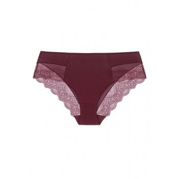 Mariella High Waist Slip Briefs burgundy