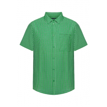 Mens Short Sleeve Shirt green