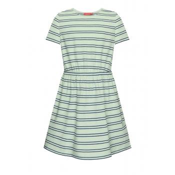 Girls Short Sleeve Jersey dress blue