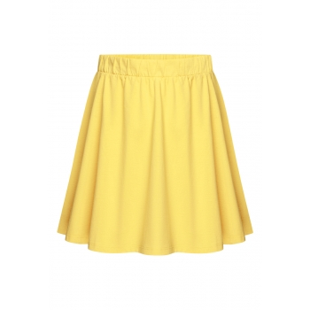 Girls Jersey Skirt yellow