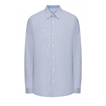 Mens Long Sleeve Shirt light blue