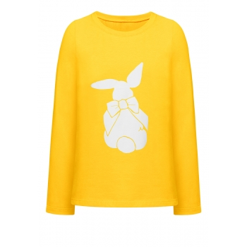 Girls Long Sleeve Top yellow