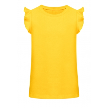Short Sleeve Top yellow