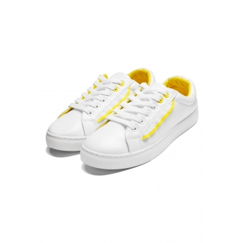 Felici Sneakers whiteyellow