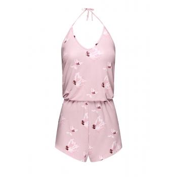 Комбинезон цвет розовый