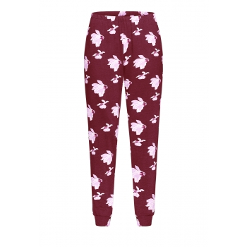 Trousers burgundy