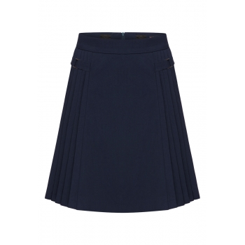 Girls Skirt ink blue